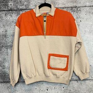 Vintage // Pullover 1/4 Zip Hoodie